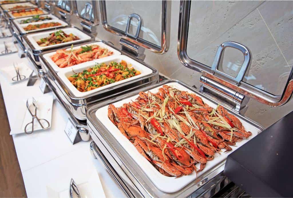 Tất cả món ăn đều đảm bảo nguyên liệu tươi ngon nhất. Ảnh: queenannnhatrang.com
