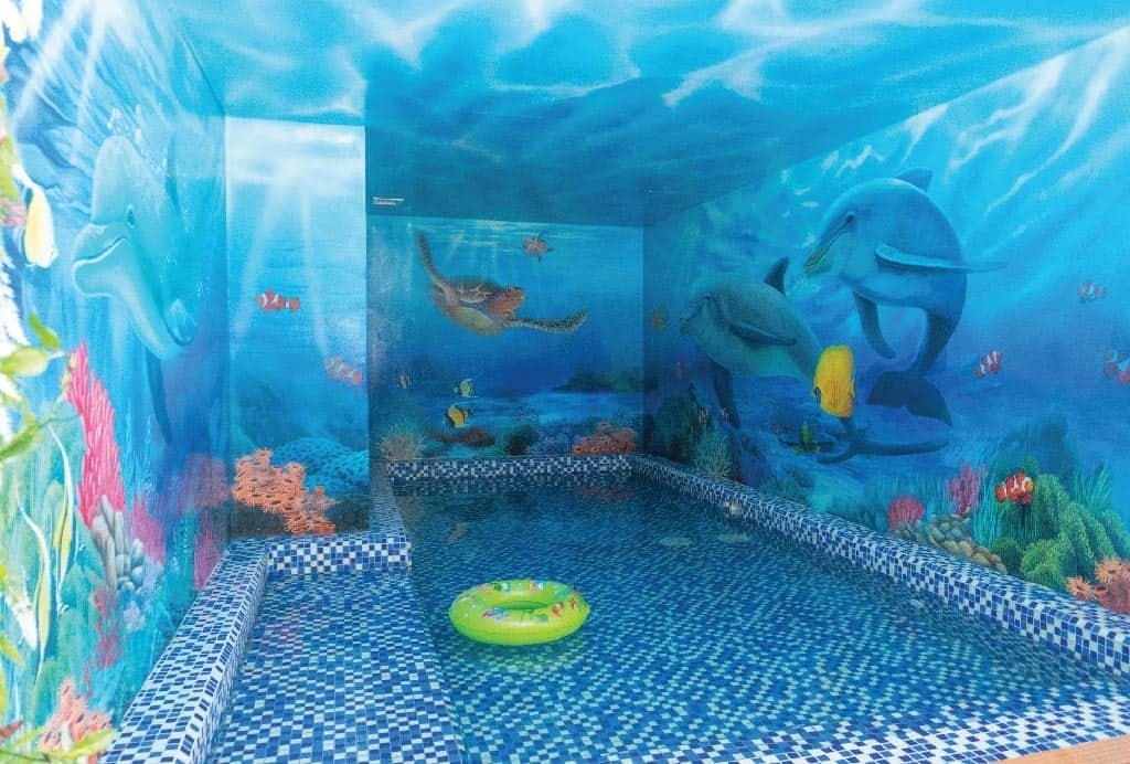 Bể bơi trẻ em hứa hẹn sẽ khiến các bé thích thú