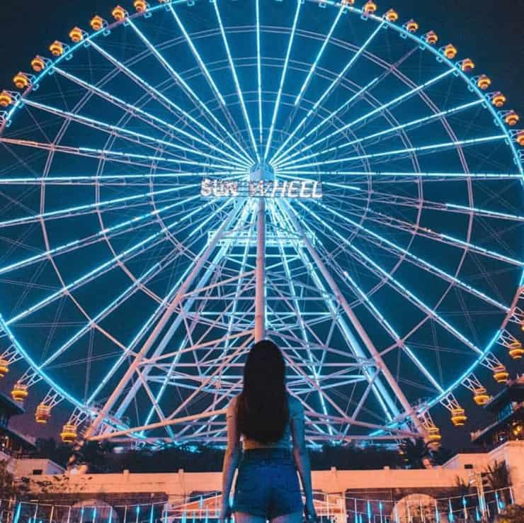 Vòng quay Sun Wheel nơi ngắm nhìn Đà Nẵng từ cao - Ảnh ST