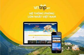 Quảng cáo trên Website và Fanpage của Vntrip