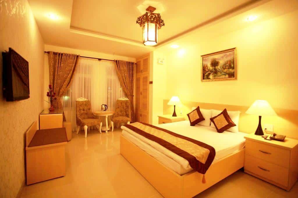 Thiết kế các phòng nghỉ đều tạo không khí ấm cúng, thân thiện cho du khách