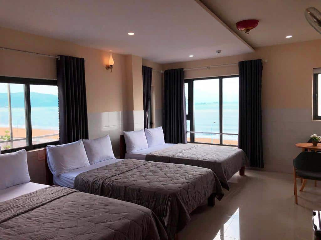 Phòng gia đình tại Thiên Hải 2 Hotel.