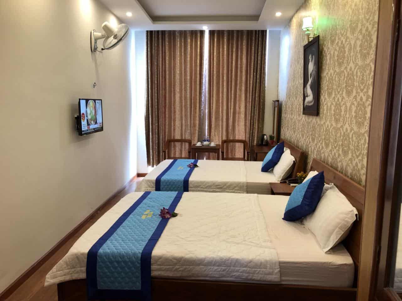 Phòng Vip 2 có 2 giường cỡ King rộng rãi