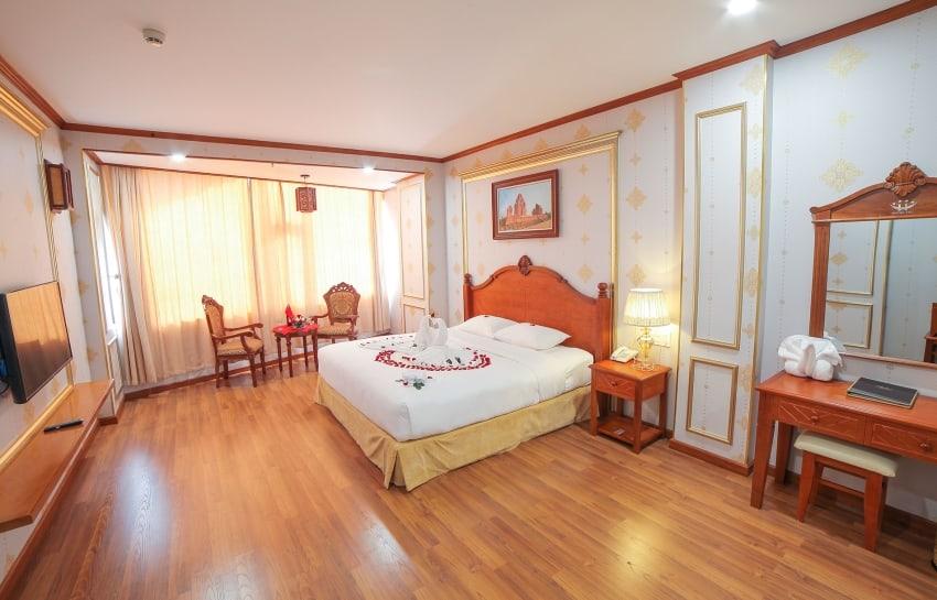 Phòng nghỉ Executive với thiết kế thanh lịch và sang trọng của khách sạn