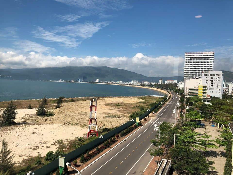View nhìn từ các phòng nghỉ tại khách sạn Hồng Diệp