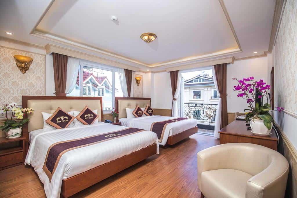 Phòng nghỉ với phong cách Châu Âu hiện đại, thanh lịch nhưng vô cùng ấm áp.