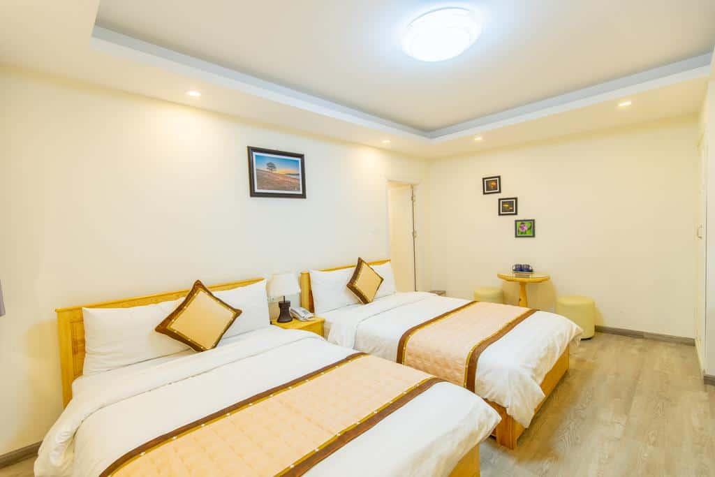 Phòng nghỉ The Grace Hotel được thiết kế thanh lịch, tiện nghi