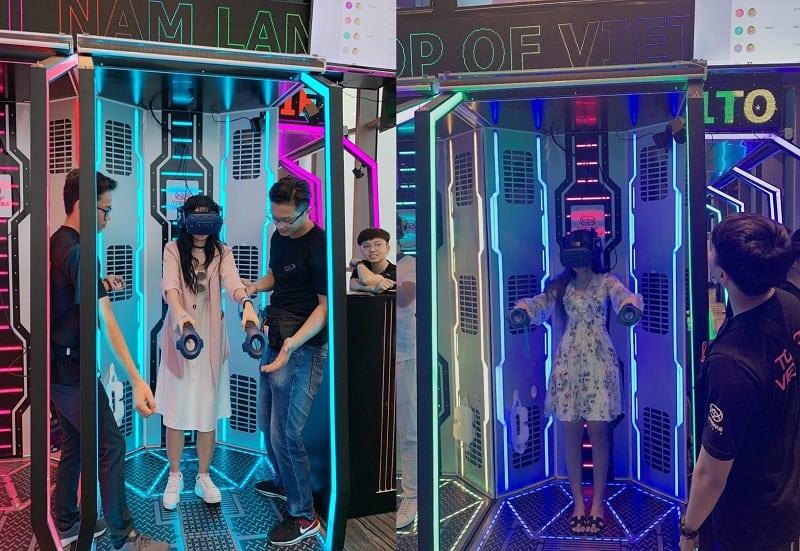 Trải nghiệm game thực tế ảo tại Skyview - Nguồn ảnh: Internet