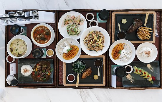 Bữa sáng với thực đơn đa dạng tại nhà hàng Sasa