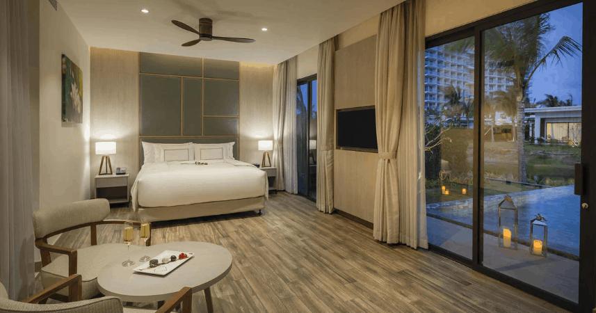 Hạng phòng Level romance suite có hồ bơi riêng diện tích 20 mét vuông