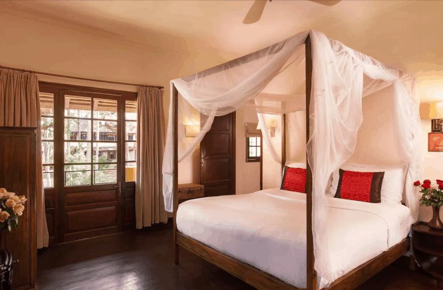 Phòng Villa Room thiết kế trang nhã, tinh tế phù hợp cho kỳ nghỉ dịu dàng tại Đà Lạt