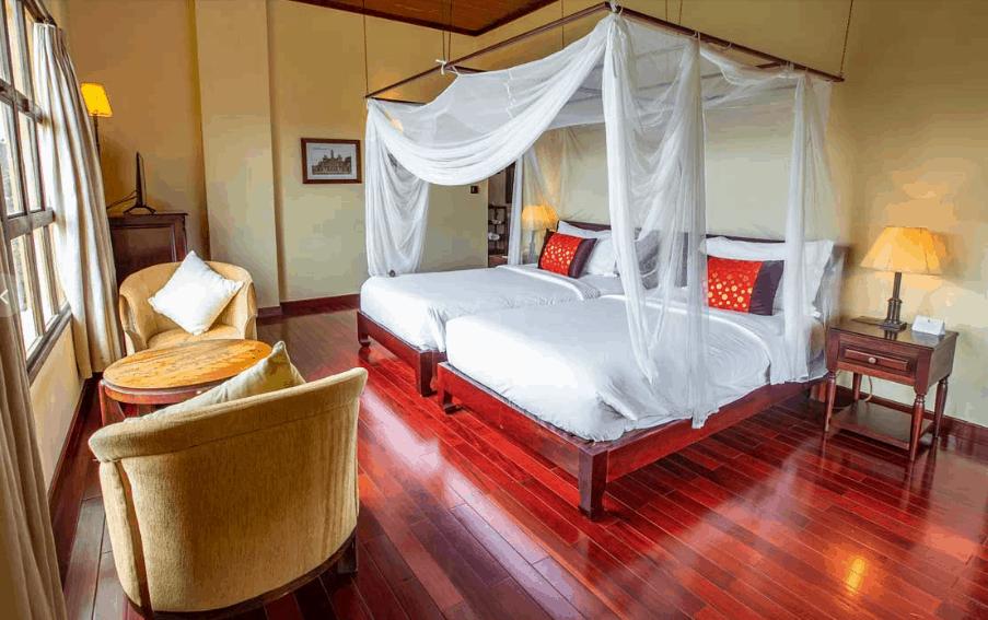 Tận hưởng không gian thư giãn, dễ chịu trong không gian sang trọng và ngắm nhìn Đà Lạt mộng mơ trong phòng nghỉ cao cấp Grande Suite