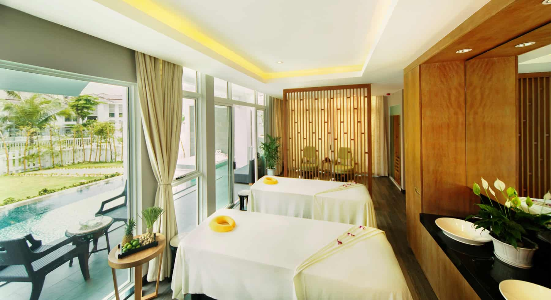Khu massage bên trong Premier Village Danang resort