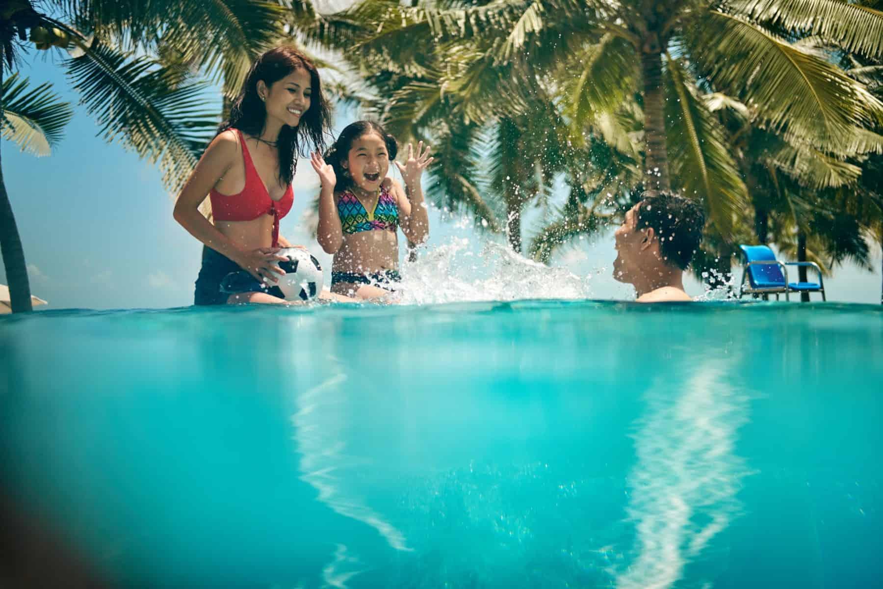 Hoạt động vui chơi dưới nước