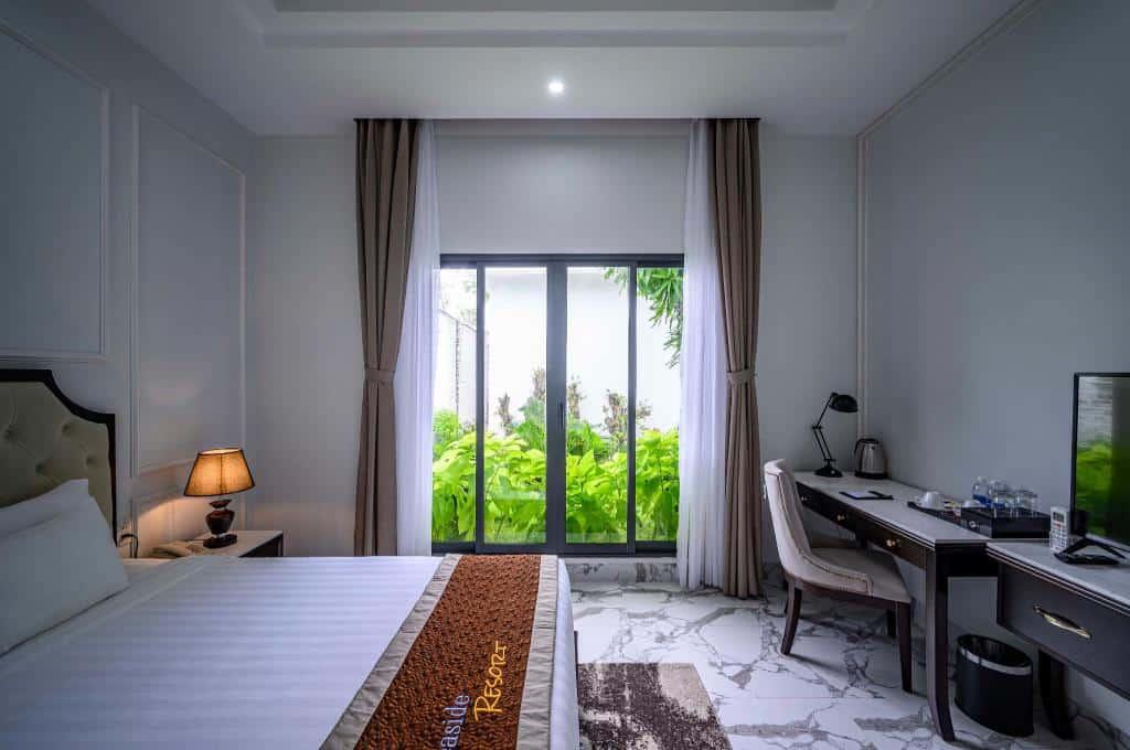 Phòng ngủ giúp du khách thư giãn cùng thiên nhiên
