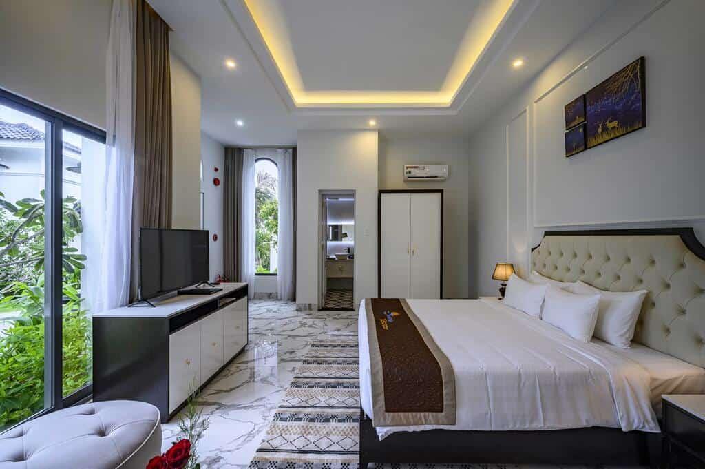 Boutique Villa sở hữu phòng nghỉ gần gũi với thiên nhiên xanh mát