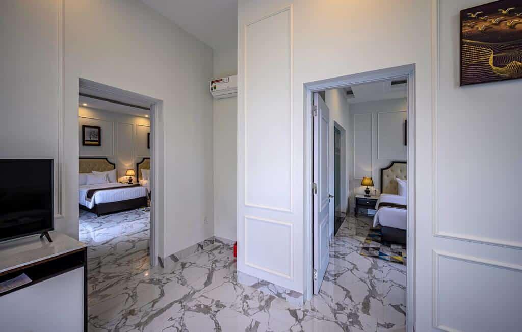 Premier Villa gồm 2 phòng ngủ rộng rãi, hiện đại
