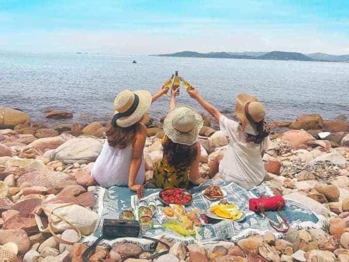 Tour đảo Bung thích hợp cho những ai yêu thích trải nghiệm - Nguồn ảnh: FB Phạm Quỳnh