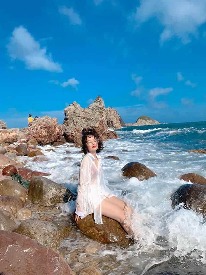 Check-in Bãi Đông nơi giữ được vẻ đẹp nguyên thuỷ vốn có không phải ai cũng biết - Nguồn ảnh: FB An Nhiên