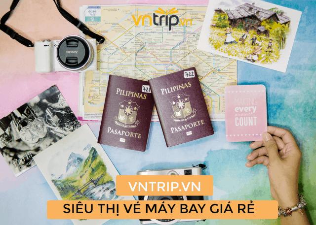 Đặt vé máy bay giá rẻ tại Vntrip