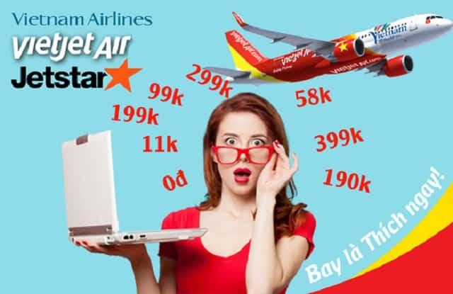 Vé máy bay giá rẻ là vé máy bay được cắt giảm các khoản chi phí không cần thiết như đồ ăn, đồ uống,...