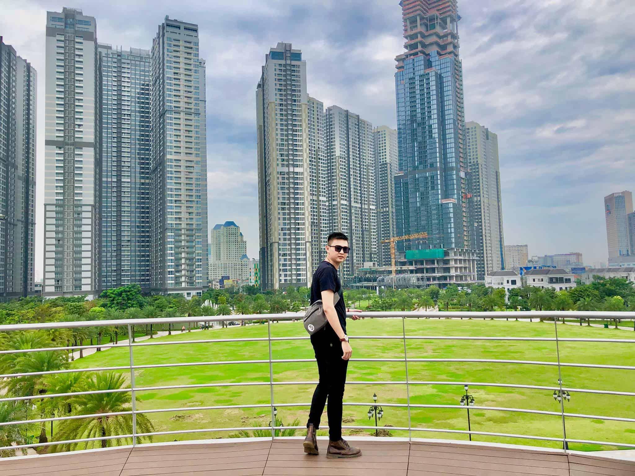 Công viên ven sông lớn nhất Sài Gòn ngay cạnh Landmark 81 - Nguồn ảnh: Internet