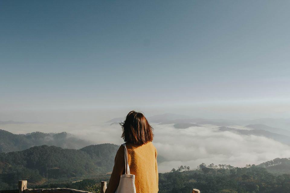 Những buổi sáng bình yên ở Đà Lạt. Hình: Hoàng Linh Hà