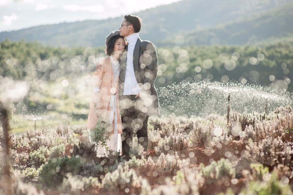 Khung cảnh lãng mạn của Đà Lạt. Hình: Lê Ng Hiền