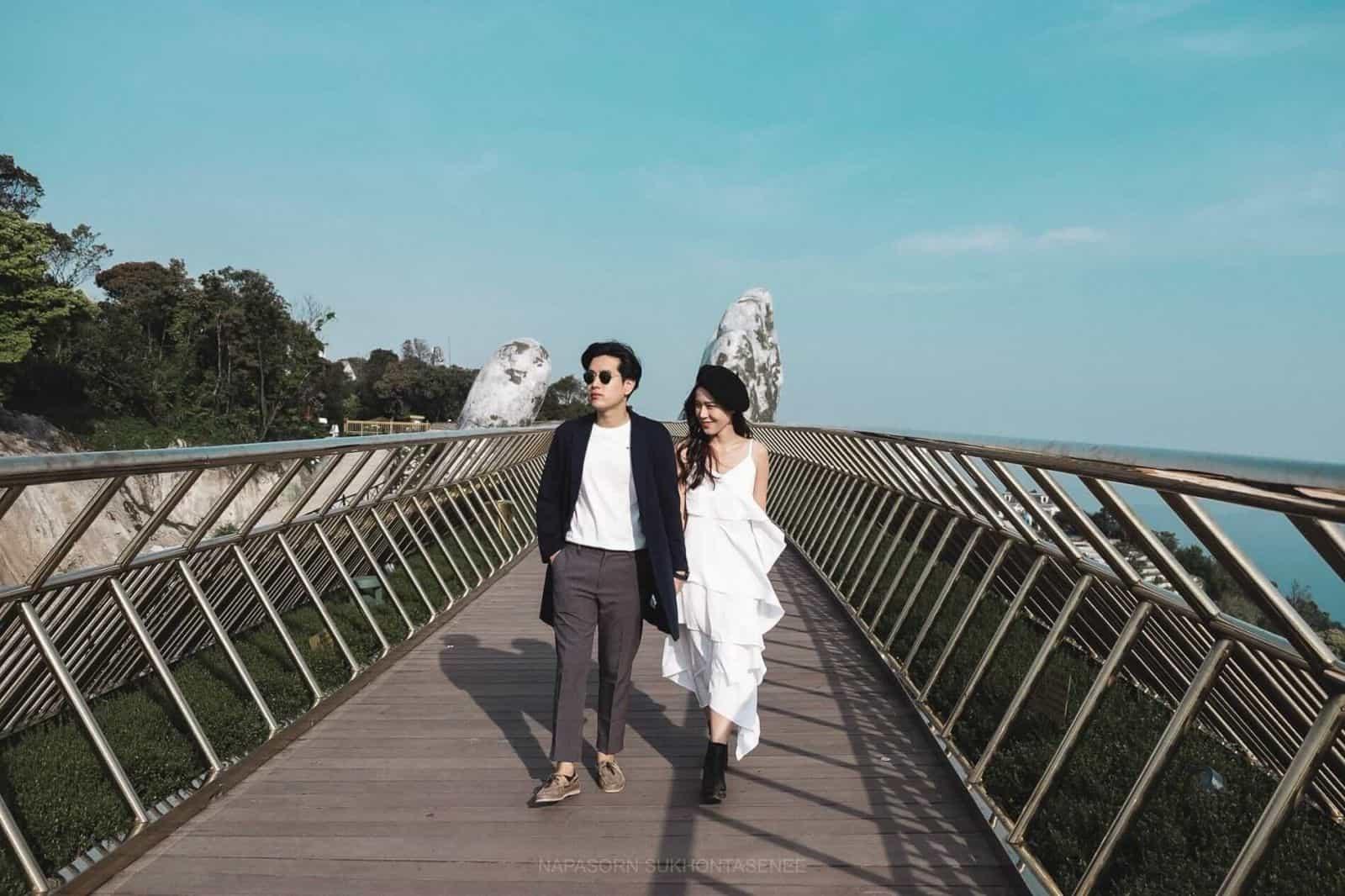 Cầu Vàng - Bà Nà Hills Đà Nẵng. Hình: Sưu tầm