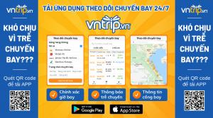 Flight Radar: Tính năng theo dõi chuyến bay 24/7 trên App Vntrip