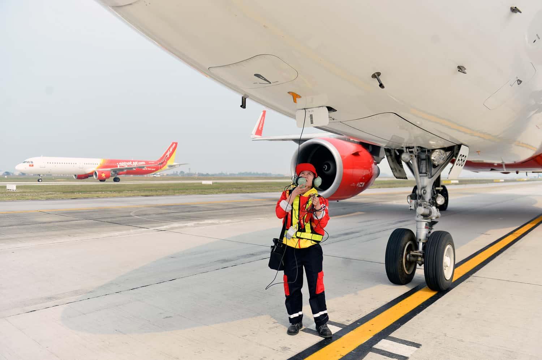 Các hãng hàng không thường xuyên được bảo trì, kiểm tra máy bay sau mỗi chuyến bay