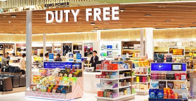 Mua sắm tại các cửa hàng miễn thuế