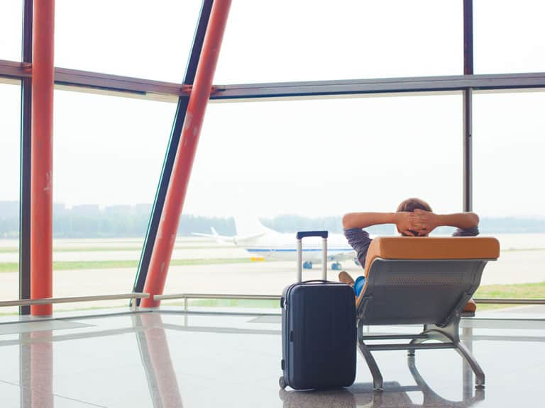 Giữ tinh thần thoải mái, thư giãn để chuẩn bị cho chuyến bay mới