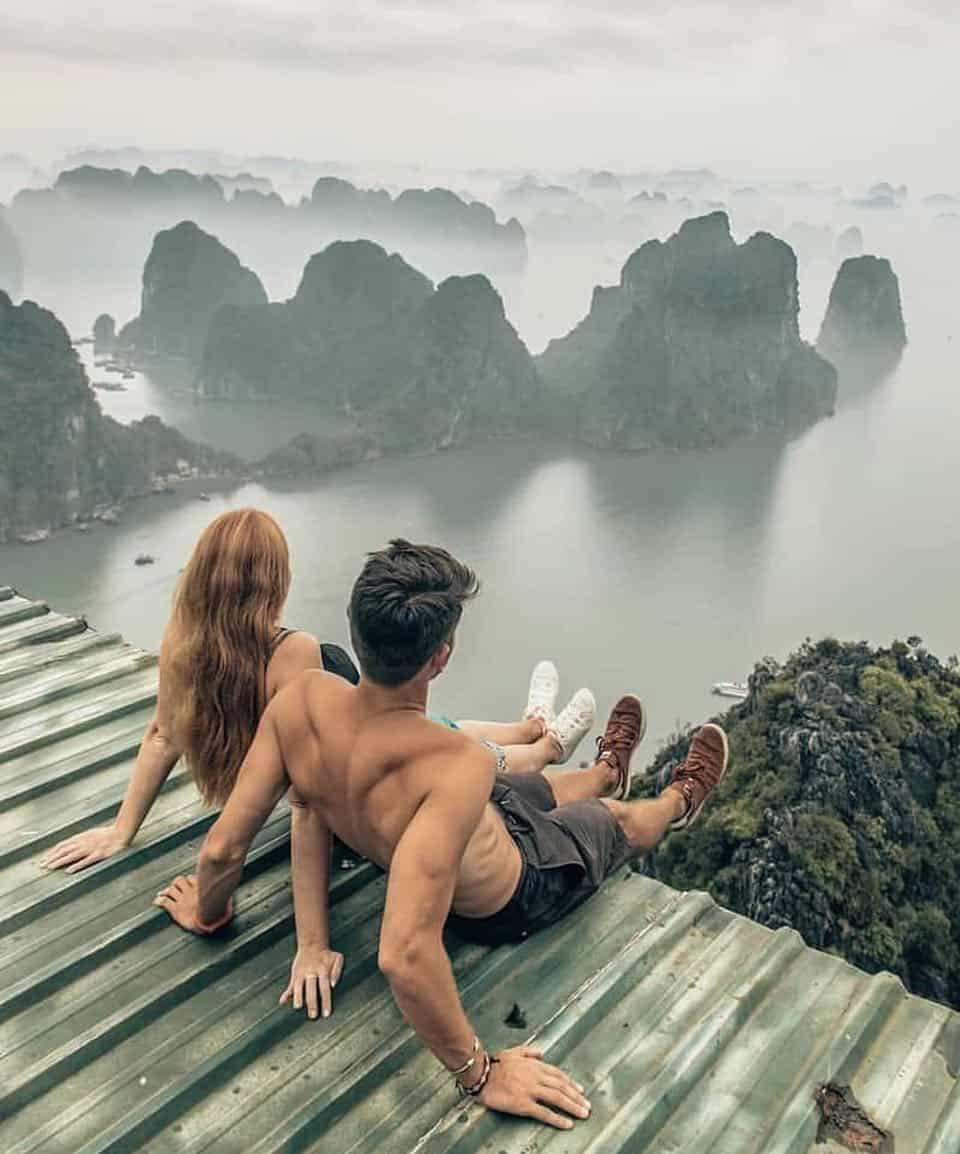 Hạ Long - Điểm đến lý tưởng dành cho các cặp đôi.