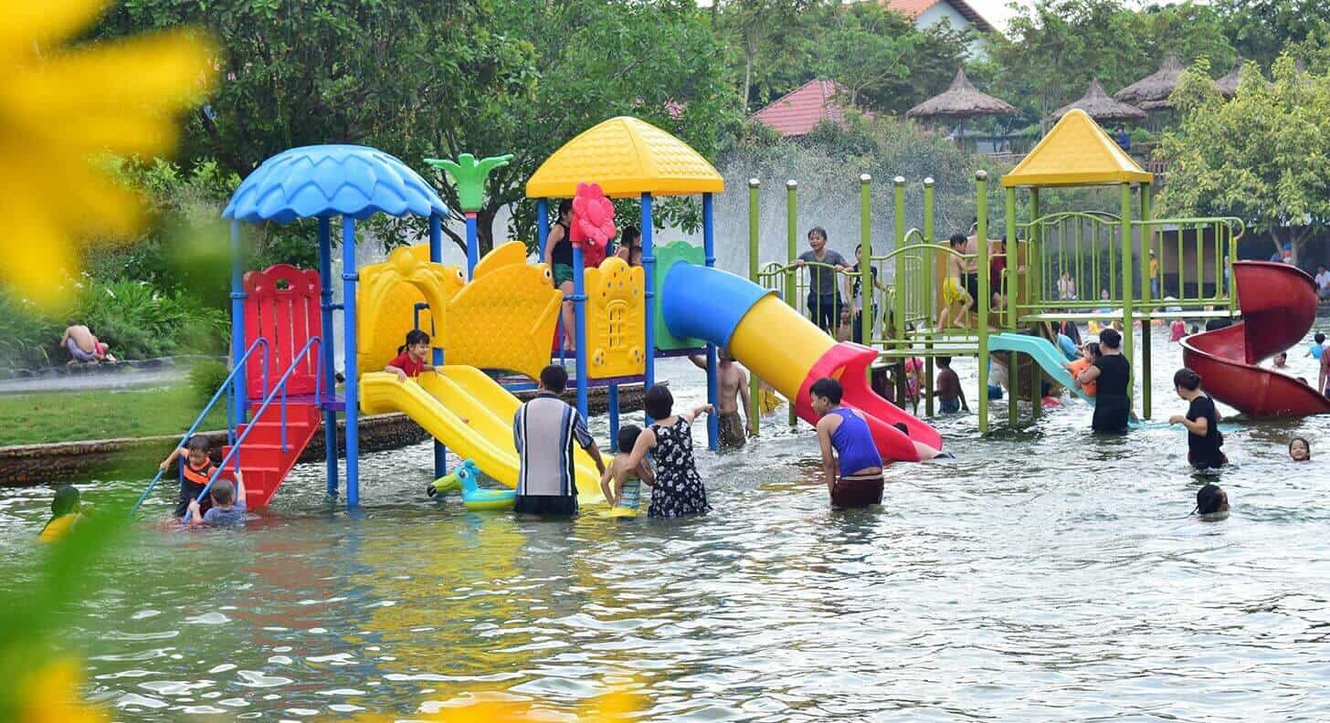 Khu hồ bơi cho trẻ em tại Suối Mơ - Nguồn ảnh: Internet