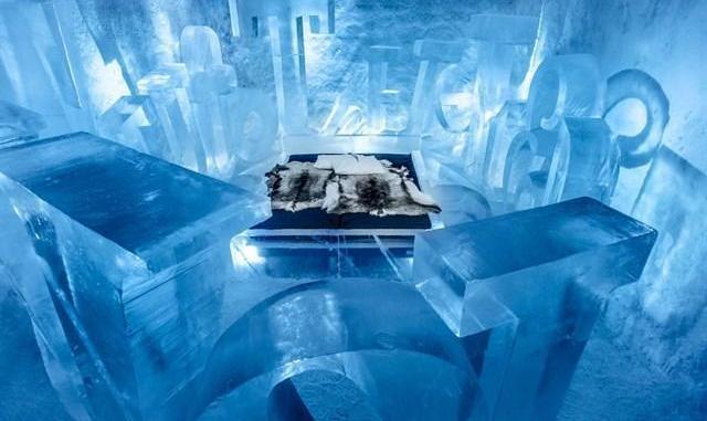 Trải nghiệm cái lạnh âm 11 độ C ở Ice Bar tại tầng 74 Landmark 81 - Nguồn ảnh: Internet