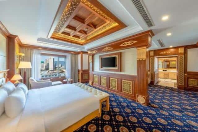 Thiết kế sang trọng, đẳng cấp của kiểu phòng President tại DLG hotel