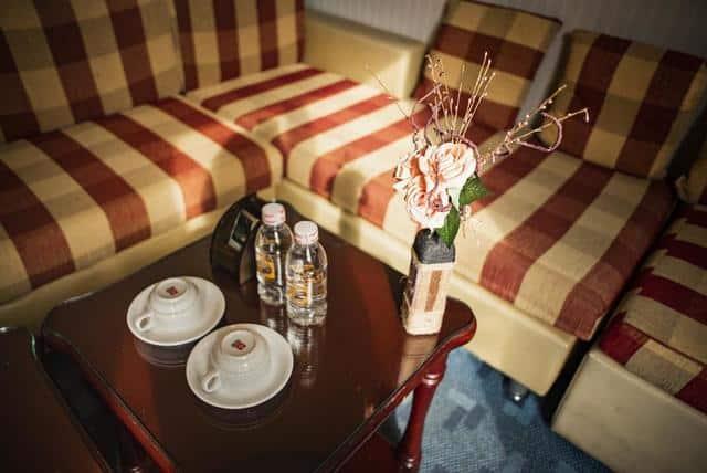 Những chi tiết nhỏ tại các phòng nghỉ đều được chú ý bài trí đẹp mắt