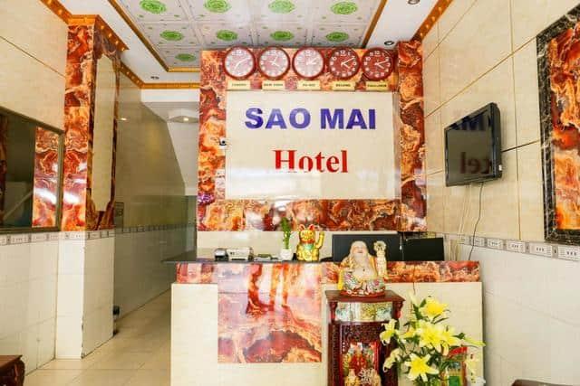 Quầy lễ tân khách sạn Sao Mai