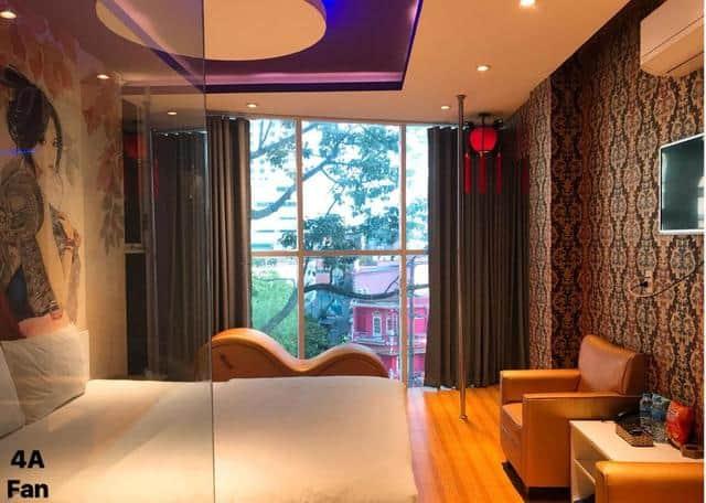 Cách bài trí ấn tượng của Bonita boutique hotel