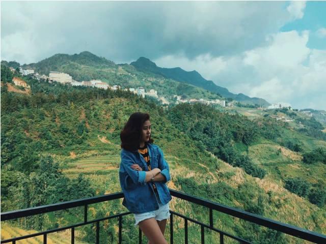 Đỉnh núi Hàm Rồng là địa điểm lý tưởng để bạn chiêm ngưỡng Sapa từ trên cao