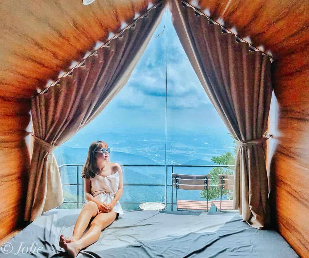 Tam Đảo có nhiều khách sạn, resort với view chất ngất để cả hai trải qua kỳ nghỉ tuyệt vời - Nguồn ảnh: IG/phuongthaoooo