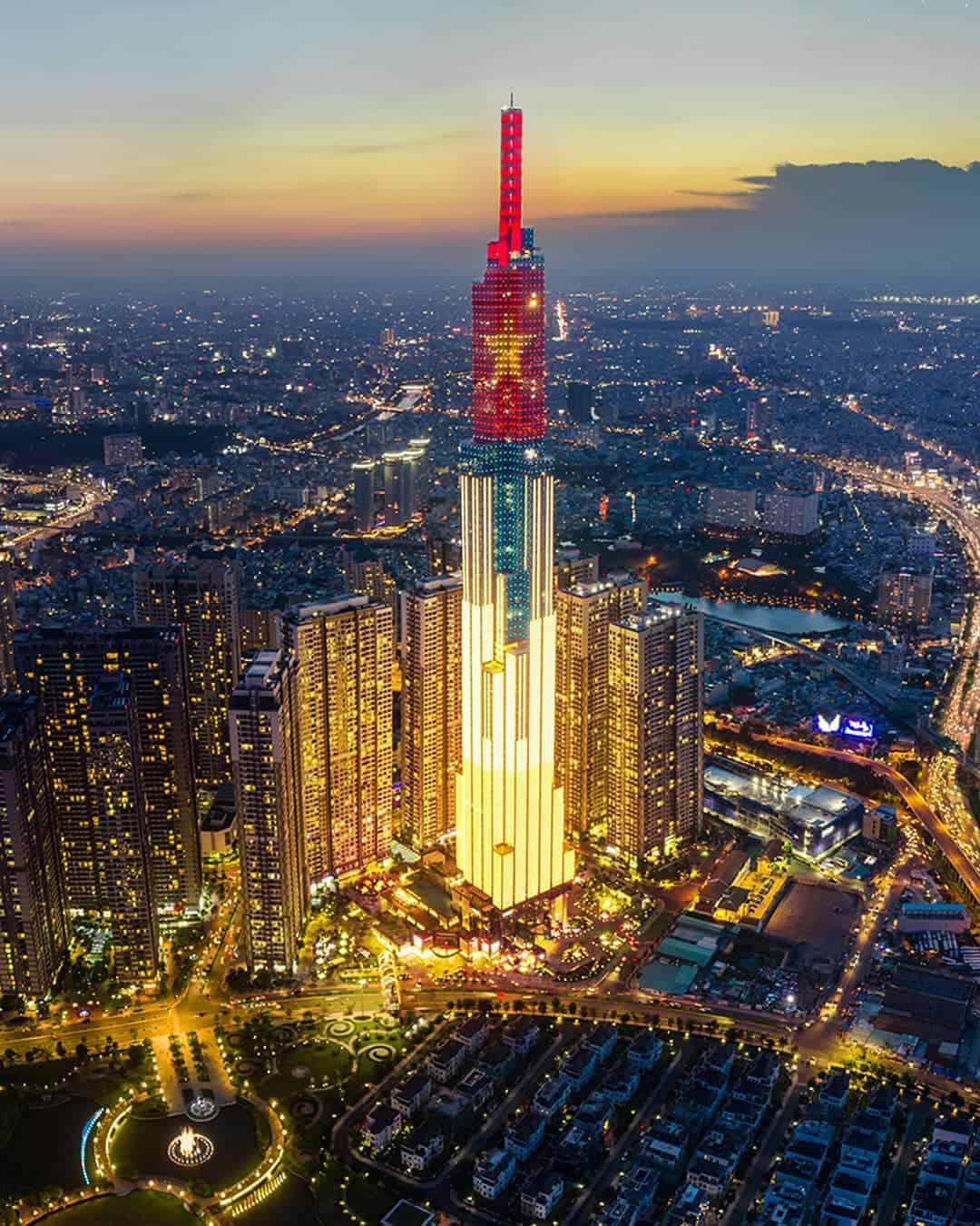 Landmark 81 - Toà nhà cao nhất Việt Nam là địa điểm check-in cực hot - Nguồn ảnh: Internet