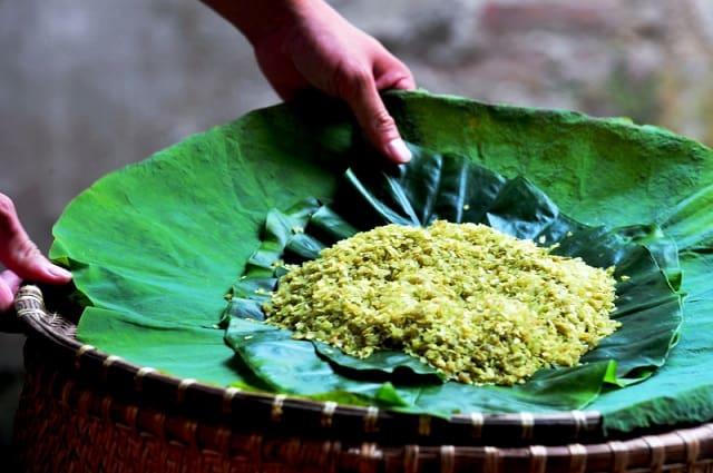 Cốm làng Vòng vẫn là nổi tiếng nhất tại Hà Nội