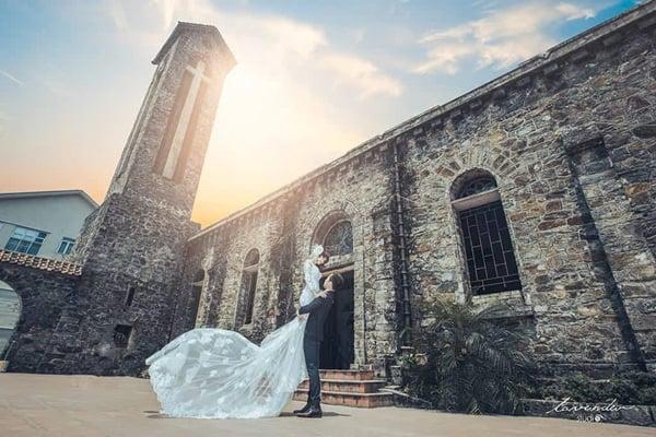 Đến nhà thờ Đá Tam Đảo - Địa điểm check-in chụp ảnh cặp đôi cực kỳ lãng mạn - Nguồn ảnh: Internet