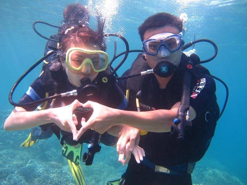 Tham gia lặn biển ở Nha Trang. Hình: Sưu tầm