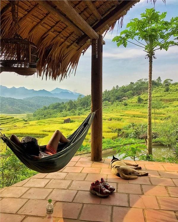 Khung cảnh yên bình. Hình: Chu Hải Yến