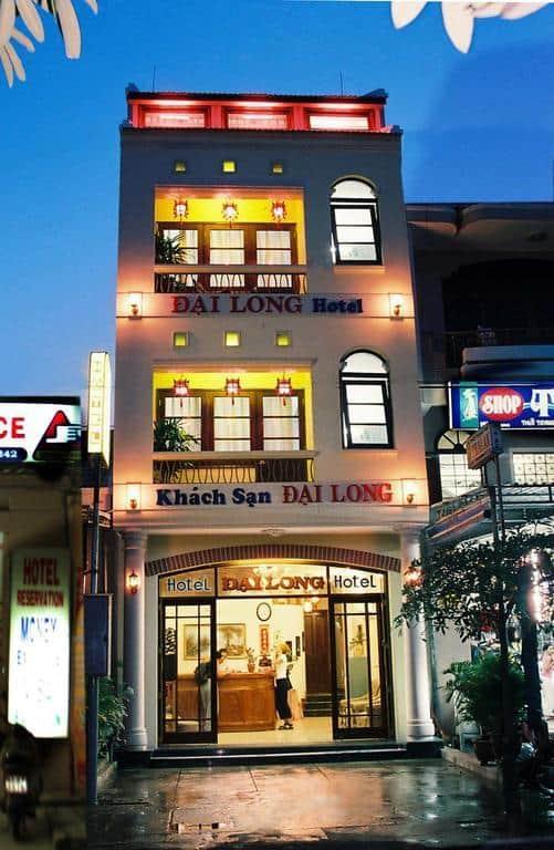 Dai Long Hotel với vẻ ngoài hiện đại