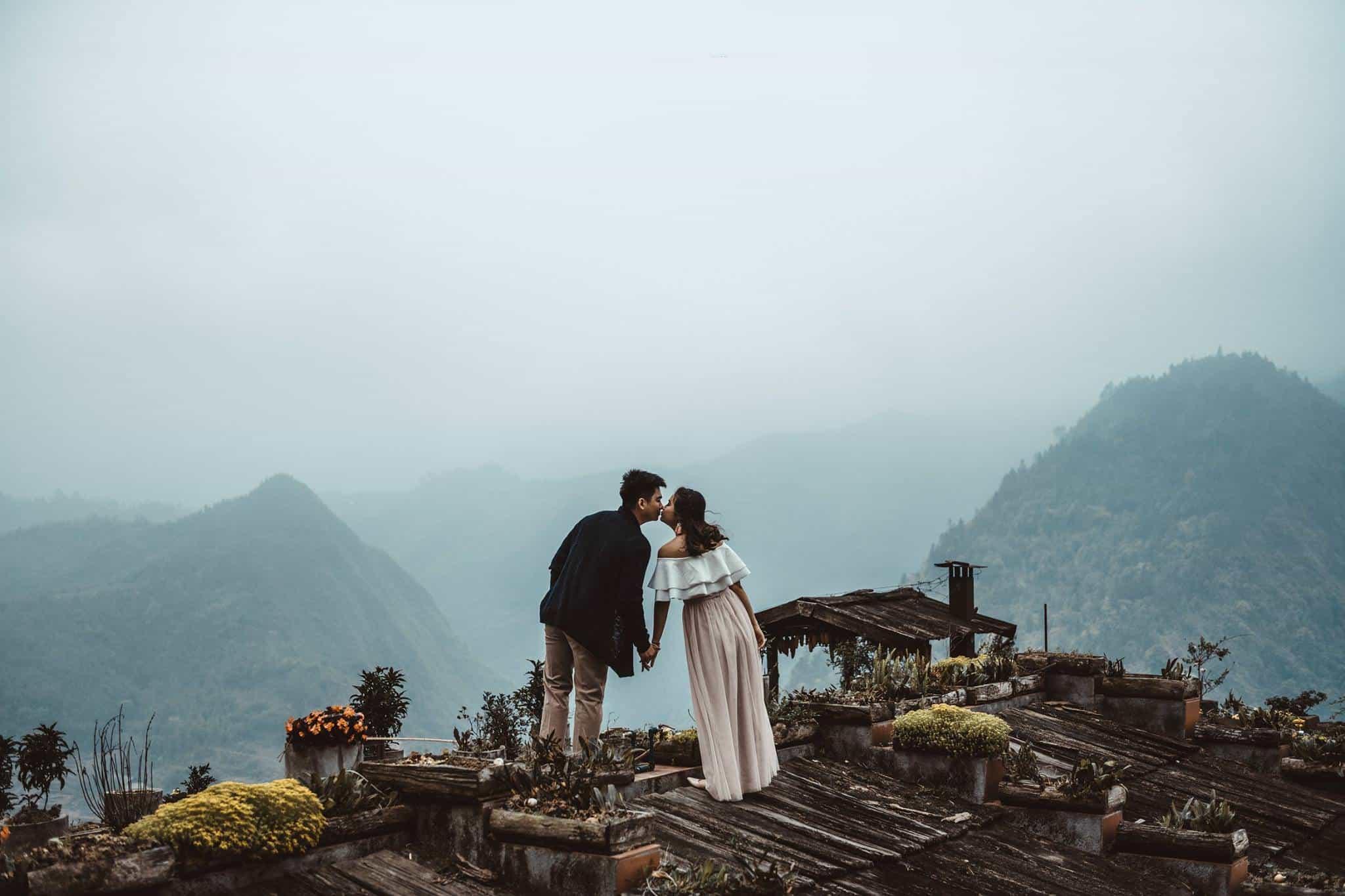 Thành phố sương mù Sapa - điểm đến lý tưởng cho vợ chồng mới cưới. Hình: Tạp chí ảnh M & G