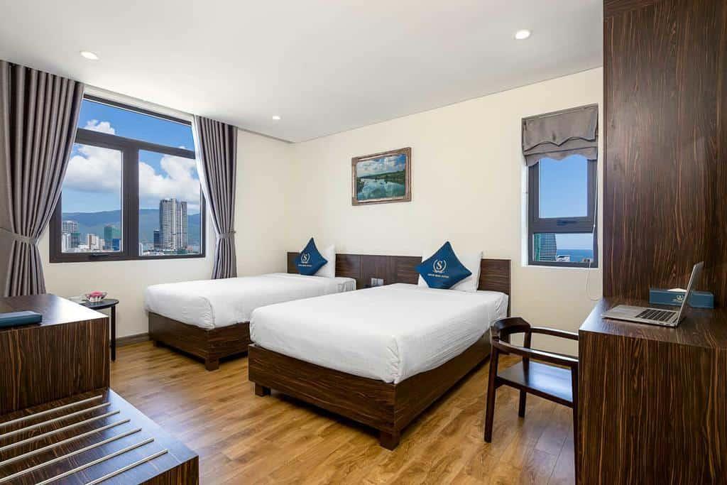 Thiết kế nội thất hiện đại, sang trọng của Sepon Blue Hotel